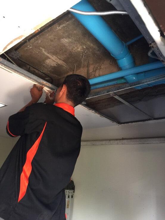 งานซ่อมฝ้าเพดาน