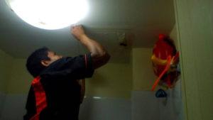 งานซ่อมฝ้าห้องน้ำ01