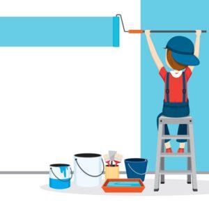 บริการซ่อมบ้าน-งานทาสี