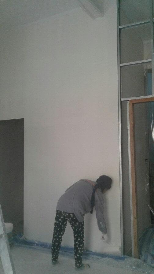 งานทาสี บ้านคุณแพร 01