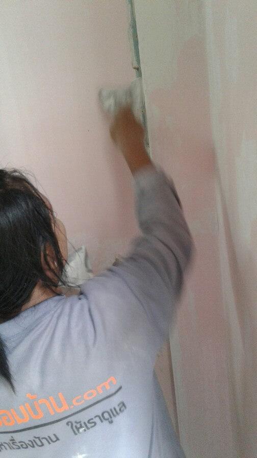 งานทาสี บ้านคุณแพร 03