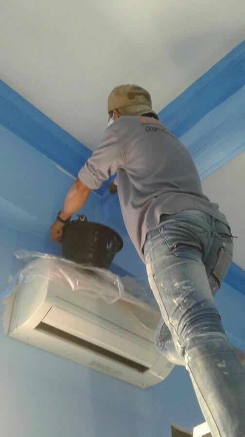 งานทาสี บ้านคุณแพร 05