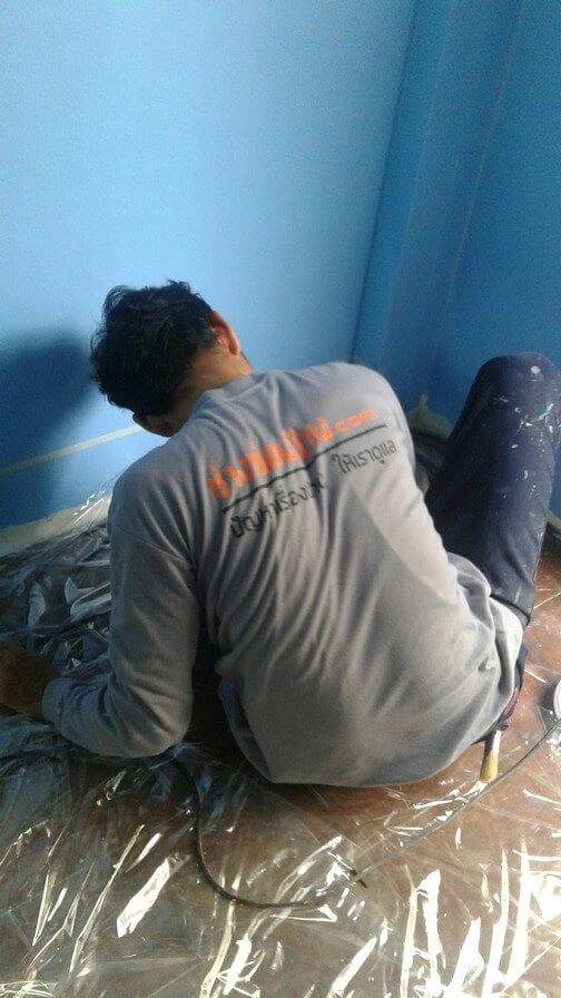 งานทาสี บ้านคุณแพร 06
