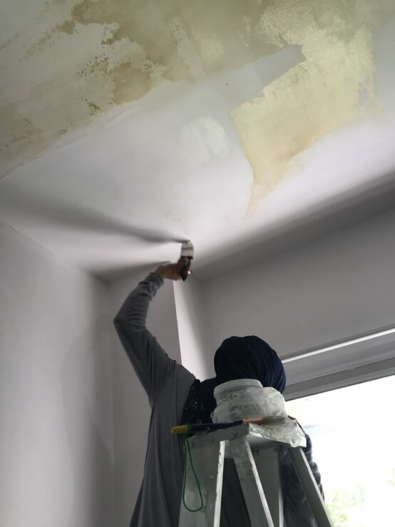 งานซ่อมหลังคา บ้านคุณเล็ก 04