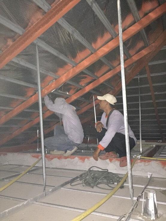 งานซ่อมหลังคา บ้านคุณสุวิมล 01