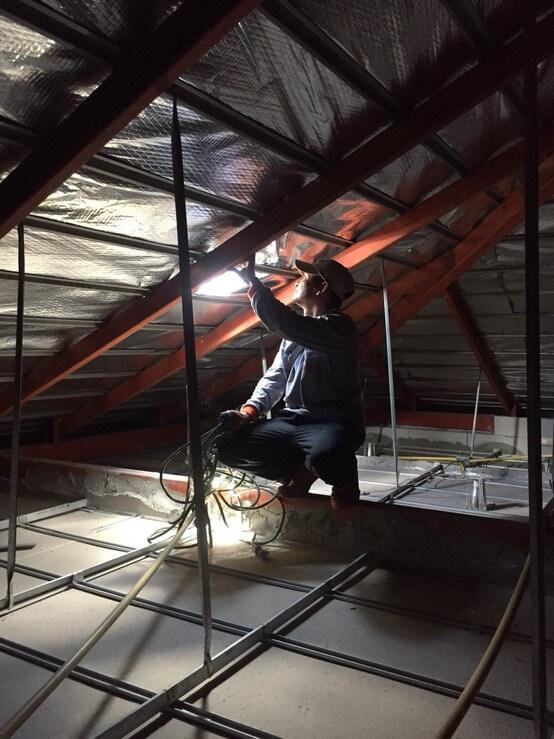 งานซ่อมหลังคา บ้านคุณสุวิมล 02