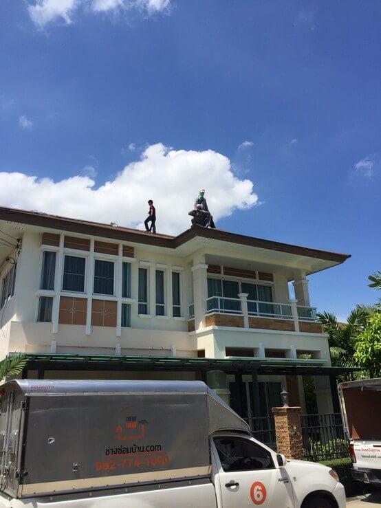 งานซ่อมหลังคา บ้านคุณสุวิมล 03